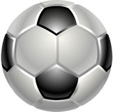 Football or soccer ball icon Stock Photography