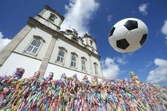 Football Soccer Ball Salvador Bahia Brazil Stock Image