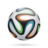 Football / soccer ball. Vector illustration Royalty Free Illustration