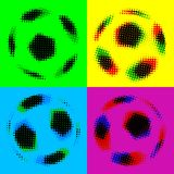 Football (soccer balls) Royalty Free Stock Photo