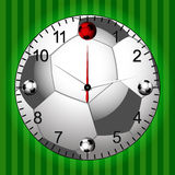 Football Soccer Clock Stock Photos