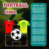 Football Soccer computer game Royalty Free Stock Photo