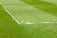 Football or soccer corner Stock Photography