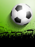 Football or soccer crowd Stock Image