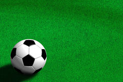 Football - Soccer (3D). Photo of Football - Soccer (3D royalty free illustration
