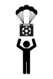 Football soccer. Design,  illustration eps10 graphic Stock Photo