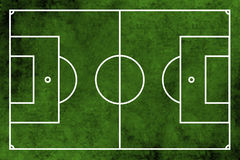 Football or soccer field Stock Photography