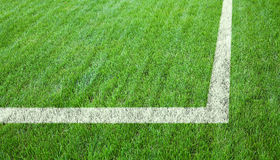 Football or soccer field Royalty Free Stock Photos