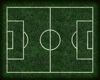 Football/Soccer Field Royalty Free Stock Images