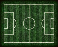 Football/Soccer Field stock illustration