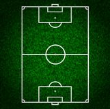 Football (Soccer Field) Royalty Free Stock Photography