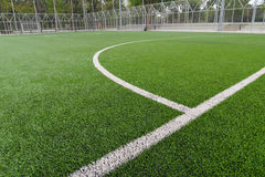 Football/soccer field Stock Photography