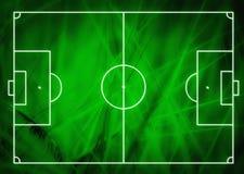 Football (Soccer Field) illustration Stock Photography