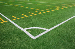 Football and soccer field Royalty Free Stock Photography