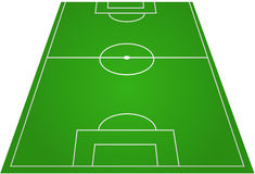 Football Soccer Field Pitch Stock Photos