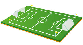 Football or Soccer Field Stock Images