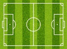Football, soccer field. Vector Stock Images