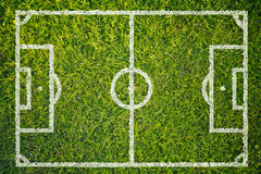 Football or Soccer Field Royalty Free Stock Image