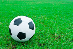 Football and soccer fields. Royalty Free Stock Image