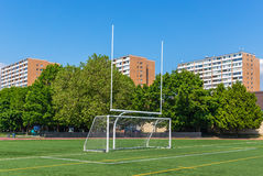 Football and soccer gates Royalty Free Stock Photo