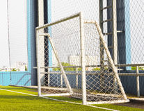 Football (soccer) goal Royalty Free Stock Images