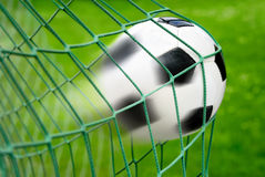 Football or soccer goal Royalty Free Stock Photos