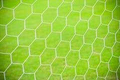 Football soccer goal net. Background Stock Photo