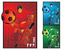 Football soccer  illustration Stock Photo