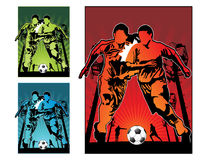 Football soccer  illustration Stock Photo