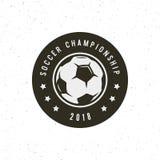 Football, soccer logo. sport emblem. vector illustration. Football, soccer logo. sport emblem, badge, design elements logotype template vector illustration Royalty Free Stock Images