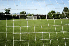 Football/Soccer netting Royalty Free Stock Photo