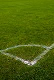 Football/soccer pitch Stock Photos