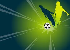 Football / soccer player Royalty Free Stock Images