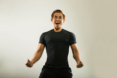 Football ,soccer player Royalty Free Stock Images