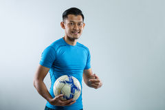 Football ,soccer player Stock Images