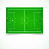 Football, soccer realistic, textured field Stock Photography