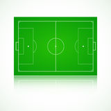 Football, soccer realistic, textured field Stock Photo