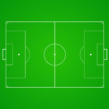 Football, soccer realistic, textured field Royalty Free Stock Photography