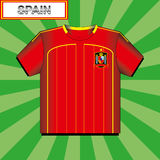 Football (soccer) shirt Royalty Free Stock Photo