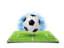 Football soccer stadium stock image