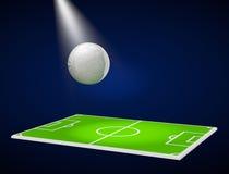 Football soccer stadium stock photos
