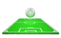 Football soccer stadium stock photo