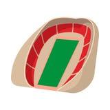 Football soccer stadium cartoon icon Royalty Free Stock Photography