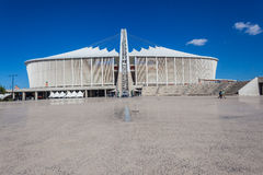 Football Soccer Stadium Durban  Stock Image