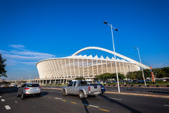 Football Soccer Stadium Roads Durban  Royalty Free Stock Photos