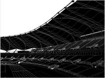 Football Soccer Stadium Vector 15 Stock Photos