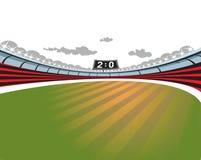 Football Soccer Stadium. Royalty Free Stock Photography
