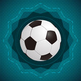 Football  soccer  vector icon - badge Stock Photo
