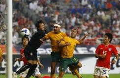 Football South Korea v Australia national match Stock Image