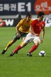 Football South Korea v Australia national match Stock Photo